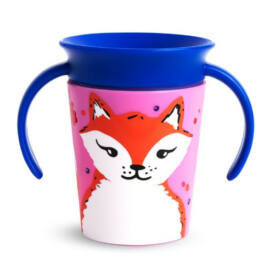 Munchkin Miracle 360 itatópohár 177ml - Wild Love Fox